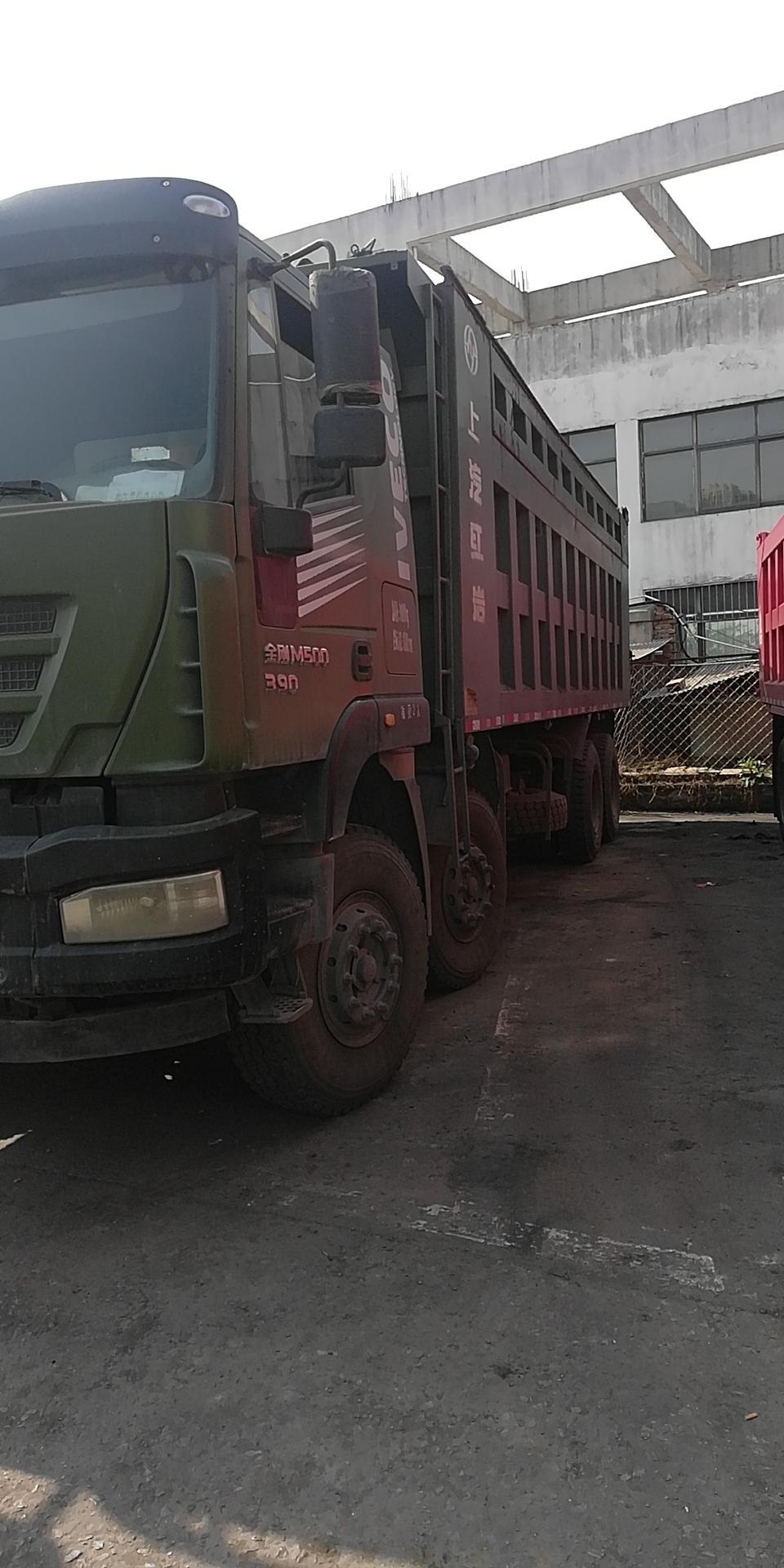 上汽紅巖其他車系 自卸車  390匹 2017年04月 8x4